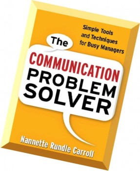 Problem Solving For Managers