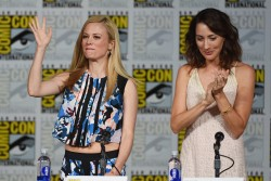 """Bree Turner - at the """"Grimm"""" season 5 panel during Comic-Con 7/11/15"""