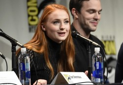 Sophie Turner - 20th Century Fox presentation at Comic-Con in San Diego - 07/11/15