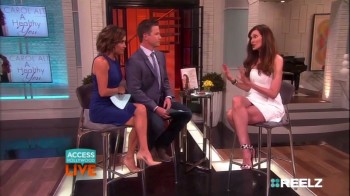 CAROL ALT - LEGGY - Access Hollywood live