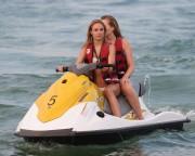 Kimberley Garner | Bikini Candids on the Beach in St. Tropez | July 21 | 59 pics