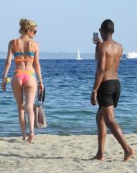 Doutzen Kroes - Bikini Candids in Ibiza 7/21/15