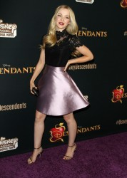 Dove Cameron - Disney's 'Descendants' premiere 7/24/15