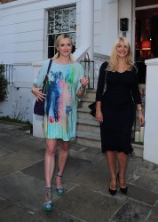 Holly Willoughby & Fearne Cotton - ITV Summer Party candids London July 9th 2015