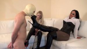 Mistress Ezada & Mistress Lilse - Worship our Boots