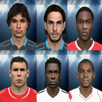 PES 2015 International FacePack 3 by Rednik