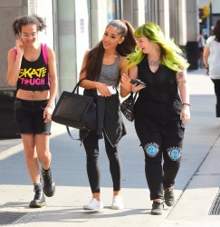 Ariana Grande Leaving a Gym in New York City - 7/29/15