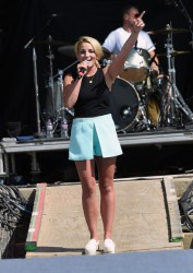 Jamie Lynn Spears - performs at Country Thunder USA - in Twin Lakes, Wisconsin 7/25/15