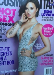 Demi Lovato - Cosmopolitan September 2015