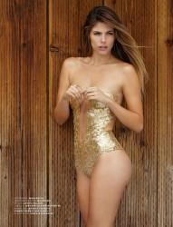 Stephanie Cayo Revista Maxim México Agosto 2015 + PDF 1