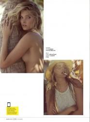 Elsa Hosk Revista GQ México Agosto 2015 + PDF 8