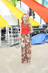 Sabrina Carpenter - YTV Summer Beach Bash in Vaughan, Ontario 8/8/15