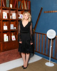 Dianna Agron - USA Dermask Collection Launch Event - August 11 2015