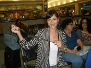 Catherine Bell posing with Spingym 21.2.2011 x1
