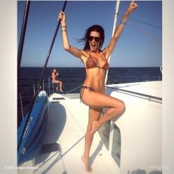 Angie Harmon - Bikini Pic 8/14/15