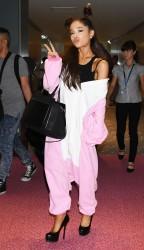 Ariana Grande  at Haneda Airport 7