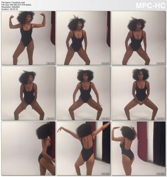 TRACEE ELLIS ROSS - *wow* - super hot swimsuit workout video