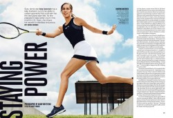 Ana Ivanovic in Self magazine x1 including article