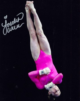 Jordyn Wieber - Signed Picture (VT) (My Collection) - x 1