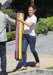 Jennifer Garner at Color Me Mine Los Angeles August 29-2015 x7