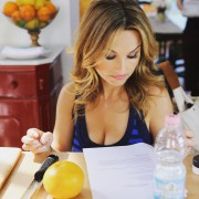 Giada de Laurentiis - 1x recent Instagram cleavage