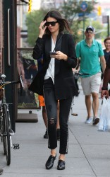 Kendall Jenner - Out & About in NYC 8/30/15