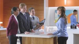 """Milana Vayntrub - AT&T Commercial """"Politician"""""""