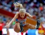 Daria Klishina at the 15th IAAF World Athletics Championships Beijing 2015 x8