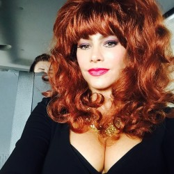 Sofia Vergara Dressed as Peggy Bundy - 9/2/15