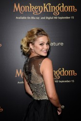 Olivia Holt - Disneynature's Monkey Kingdom special screening 9/02/15