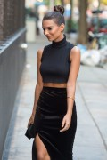 Emily Ratajkowski - Out & About in NYC 9/2/15