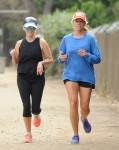 Reese Witherspoon smile during morning run in Brentwood September 3-2015 x36