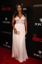 """Sanaa Lathan - Cleavage At """"The Perfect Guy"""" Hollywood Premiere in Beverly Hill (9/2/15)"""