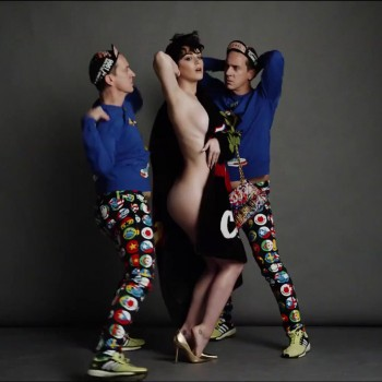 Katy Perry - Sexy Short Video From Moschino Shoot - 2015
