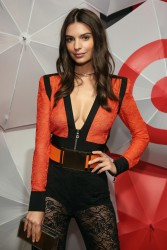 Emily Ratajkowski - TargetStyle, in Vogue Event in NYC 9/9/15