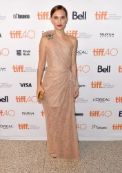 """Natalie Portman - """"A Tale Of Love And Darkness"""" Premiere at 2015 Toronto International Film Festival 9/10/15"""
