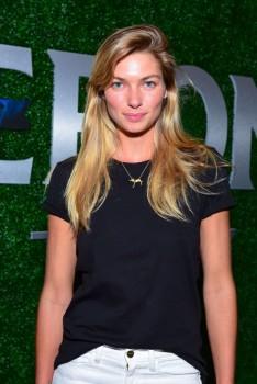 Jessica Hart - Margherita Missoni & Peroni Nastro Azzurro's Fall Fashion Collaboration debut in New York City