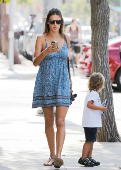 Alessandra Ambrosio out in Los Angeles CA