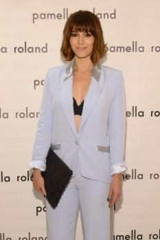 Mary Elizabeth Winstead - Pamella Roland Spring 2016 Fashion Show in New York City