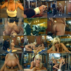 The Milf Naked Gym Workout 99