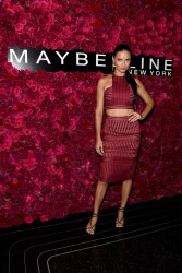 Adriana Lima - Maybelline New York Celebrates New York Fashion Week 9/13/15