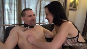 MenAreSlave - Katie - Playing With Nipples