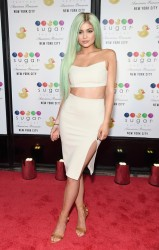 Kylie Jenner - Sugar Factory Grand Opening in NYC 9/16/15