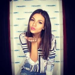 Victoria Justice - SiriusXM Studios