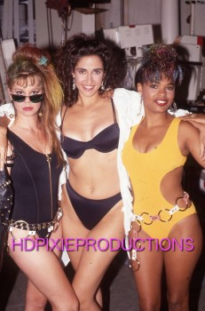 Melissa Hayden, Melina Kanakaredes, & Nia Long: Sexy Swimwear @ Unknown Event