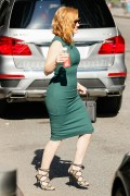 Jessica Chastain - Out & About in NYC 9/18/15