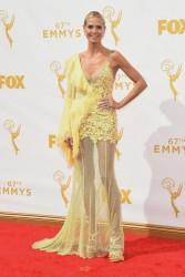 Heidi Klum - 2015 Emmy Awards 9/20/15