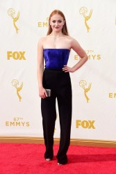 Sophie Turner - 2015 Emmy Awards 9/20/15