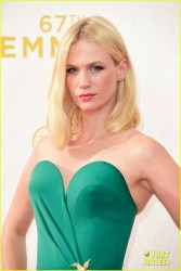 January Jones - 2015 Emmy Awards 9/20/15