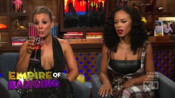 KALEY CUOCO - CLEAVAGE - Watch What Happens Live